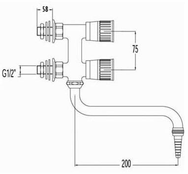 FAR verticale mengkraan met draaibare onderuitloop-2