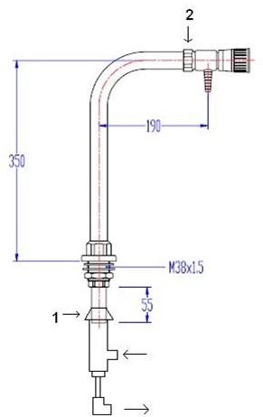 FAR kolomkraan voor ultra-puur water-2