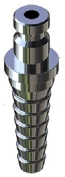 Hose nozzle for nickel plated coupling