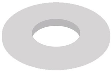 """Metalen ring 3/4"""""""