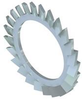 """Metalen getande ring 3/4"""""""