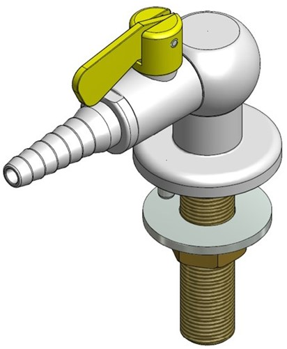 FAR CompactLine kolomkraan met borgpin, brandbaar gas
