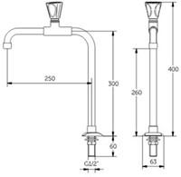 FAR MDS waterkraan bladmontage, met joystick bediening-2