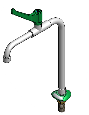 FAR MDS bench mounted water tap, elbow operated