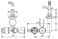 FAR MDS onderbouwkraan 5.0 met drukregelaar-2