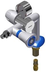 FAR MDS 5.0 gaskraan bladmontage met drukregelaar
