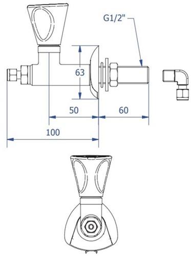 FAR MDS 5.0 rechte gaskraan-2