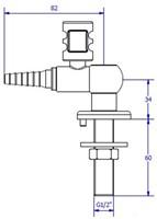 FAR MDS CompactLine gaskraan 90°-2