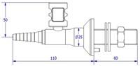 FAR MDS CompactLine rechte gaskraan-2