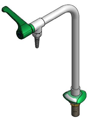 FAR MDS kolomkraan voor bladmontage, inclusief hendel