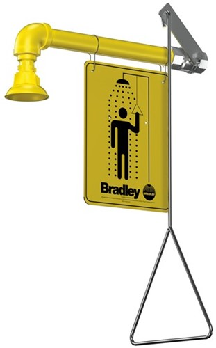 Bradley wall mounted bodyshower