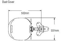 Bradley HALO oogdouche met kunststof opvangschaal-3
