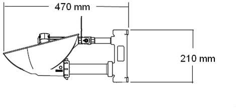 Bradley HALO oog-/gelaatsdouche wandmontage met knijpdouche-2