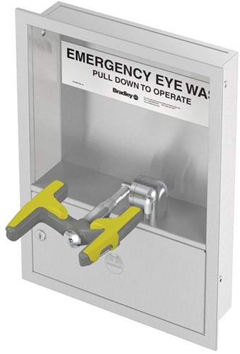 Bradley Halo neerklapbare oog-/gelaatsdouche