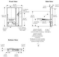 Bradley Halo plens-/oogdouche combinatie inbouw-3