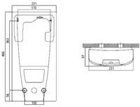 Doorstroomverwarmer voor oogdouches-3