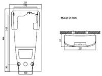 Doorstroomverwarmer voor oogdouches-2
