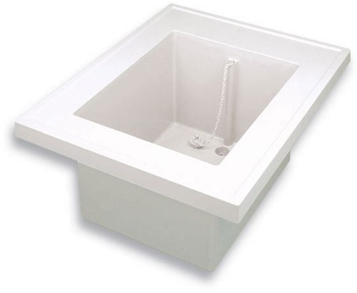 PP sink-unit with sink