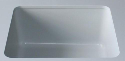 Inbouwen spoelbak 400x400x250mm