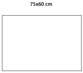 Keraion keramische tegel, 745 x 592 x 8mm, wit