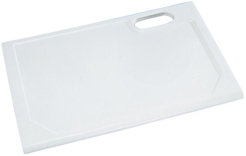 KeraLab uncut worktop, white (Polar)