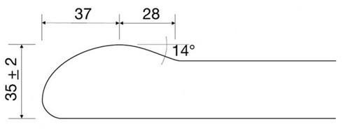 KeraLab cut to size worktop, white (Polar)-2