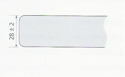 KeraLab ongesneden werkblad, lichtgrijs (ALU)-2