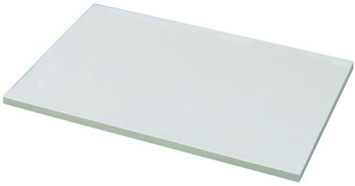 KeraLab ongesneden werkblad 28mm, wit (Polar)