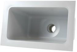 Labstream PP spoelbak 300x163x230mm, RAL 7035