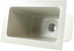 Labstream PP spoelbak 300x163x230mm, RAL 7032