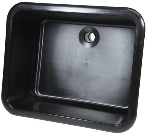 Labstream spoelbak 500x400x250mm Kappa Plus, zwart
