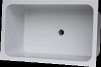 Labstream PP spoelbak 700x400x300mm, RAL 7035