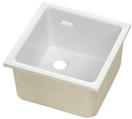 KeraLab sink 380x380x250mm with overflow