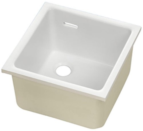KeraLab sink 680x380x250mm with overflow