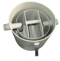 Labstream PP grease separator ø400mm