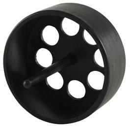 Labstream zeefje voor PP / PE bakken, zwart