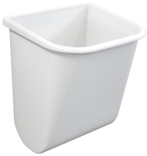 PP afvalbak met bevestigingsstrip