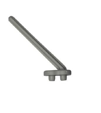 Labstream PP pennen t.b.v. afdruiprek, lengte 10cm, RAL7035