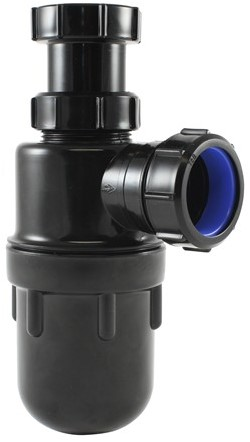 "Labstream PP bottle trap 1,5""x40mm"