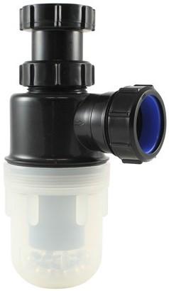 """Labstream PP bekersifon 1,5x40mm, doorzichtige beker"""""""""""