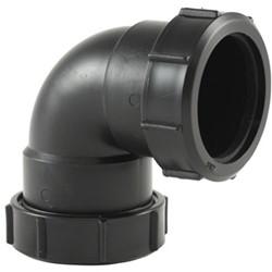 Labstream PP bocht 50mm, 90°