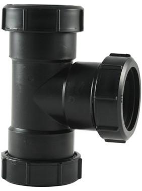 Labstream PP T-stuk 40x40x40mm 90°