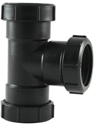 Labstream PP T-stuk 50x50x50mm 90°